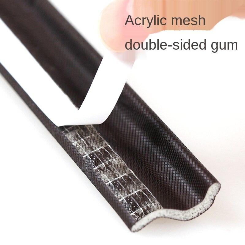 Bande auto-adhésive pour sceller les fentes des fenêtres, coupe-vent, mousse insonorisante, pour porte coulissante, protection contre la poussière