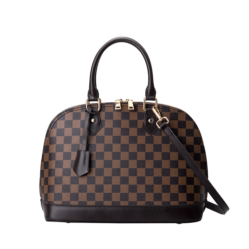 KYYSLB Shell Lattice Design Luxury Women Bag European And American Fashion Women Shoulder Messenger Bag PU High Quality Handbag