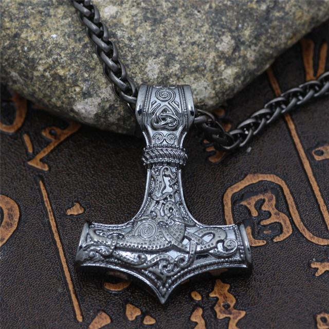 Collier ancre Viking  6