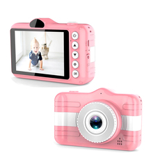 Children Camera 3.5 Inch Digital Camera 80W HD Double Lens Selfie Cam 32G USB 2.0 Rechargeable Intelligent for Video Photo Kids