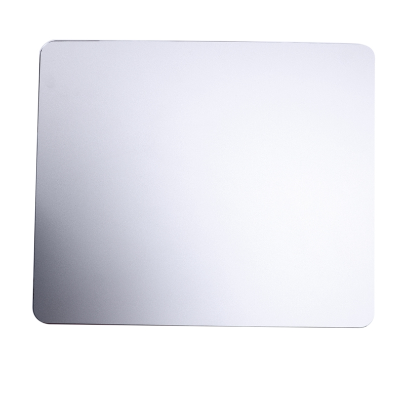 320x270mm Aluminum Alloy Non-Slip Gaming Mouse Pad Mat Double Sided Accurate Control Mousepad For PC Side Pads(Silv