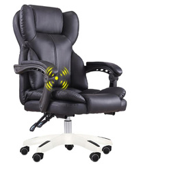 стул High Quality Office Boss Chair Ergonomic Computer Gaming Chair Internet Cafe Seat Household Reclining Chair