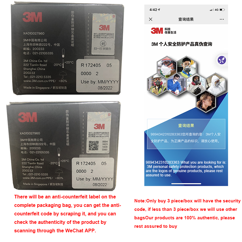 3M Aura Mask 9334CV KN95 Mask Protective Particulate Respirator Face Mouth Masks With Valve KN95 3M Mascarillas Fast Shipping 5