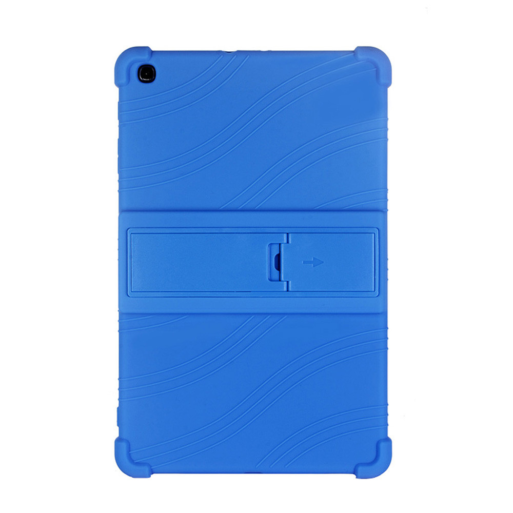 2019 Tablet Protective Cover For Samsung Galaxy Tab A 10.1 T510/T515 Silicone Solid Stand Case Cover Funda De Tableta DropshiG1
