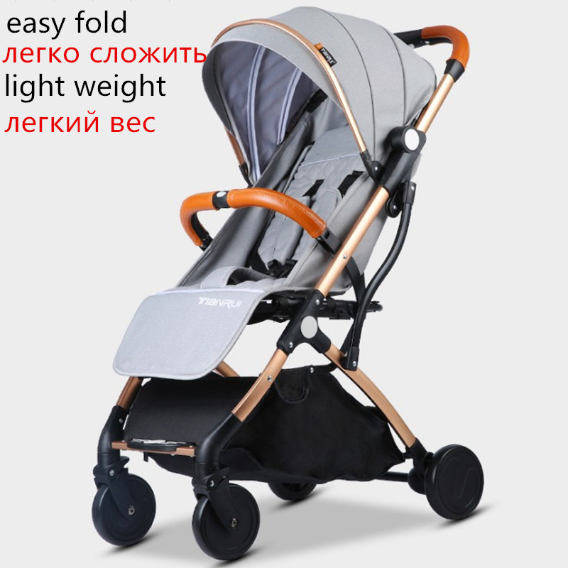 Image 2 - Baby Stroller Lightweight Travel-in Four Wheels Stroller from Mother & Kids