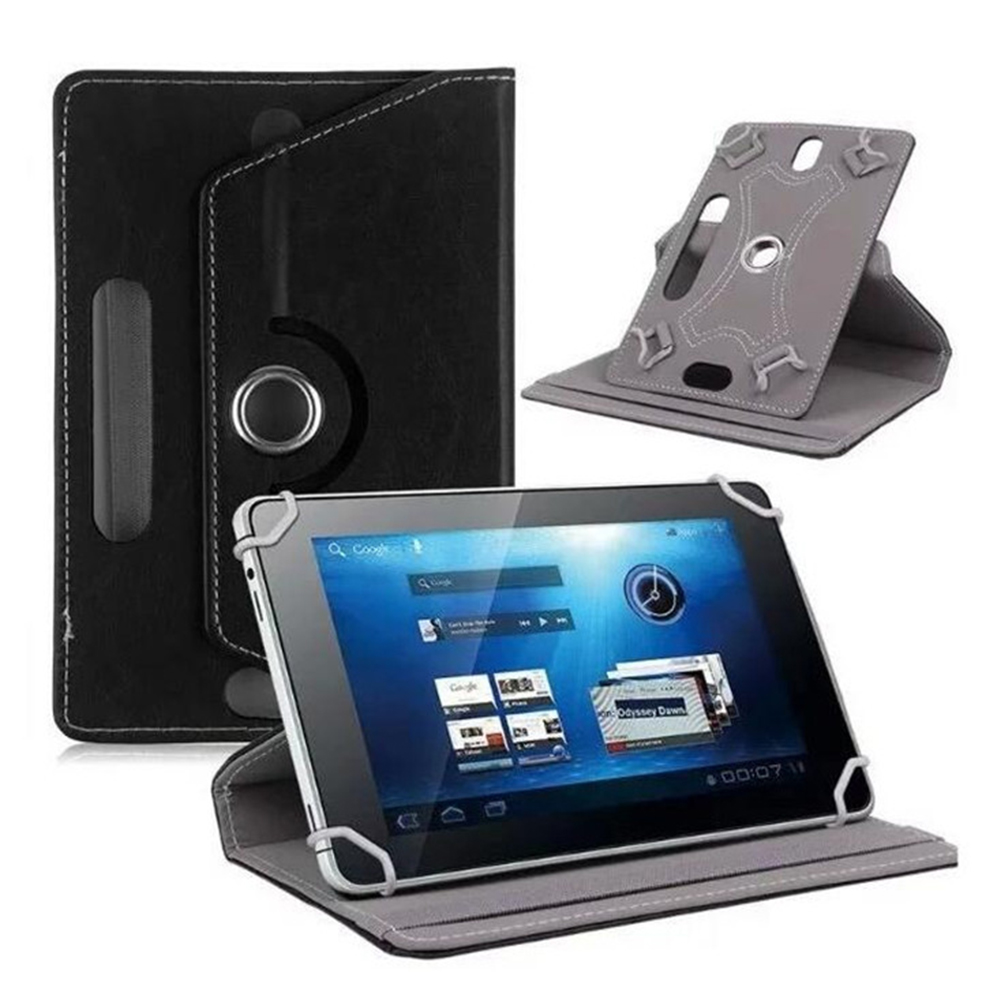 Durable Tablet PC Case Sleeve Anti-Scratch Shockproof 360 Degrees Rotation PU Leather 10 Inches Shell Accessories Protector