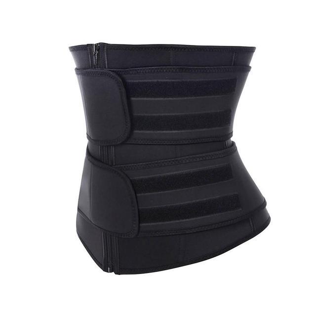 CXZD Waist Trainer Corset Sauna Sweat Belt for Women Weight Loss Compression Trimmer Workout Fitness Shapewear 3