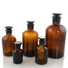 Reagent-Bottle Best-Glass Brown Narrow Mouth 60ml-500ml Small Price