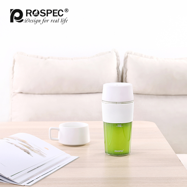 ROSPEC 7.4V Portable automatique mélangeur fruits mélangeur tasse sans BPA Smoothie fabricant sans fil USB Rechargeable presse-agrumes robot culinaire