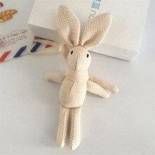 Rabbit Plush Stuffed Key chain Toy Kids Dolls SF