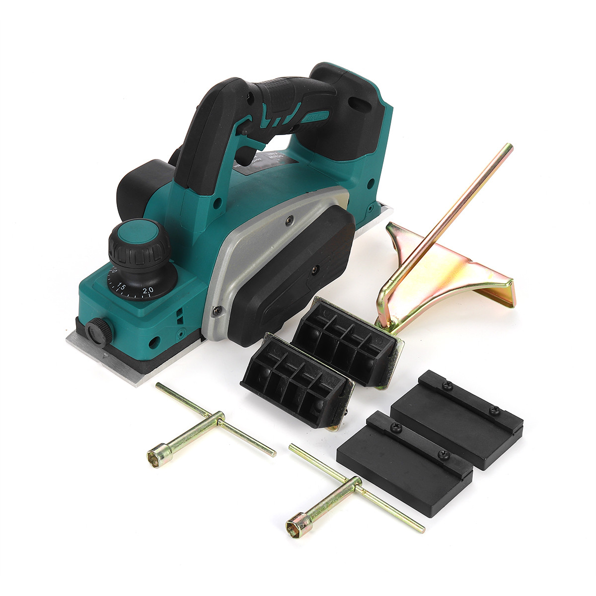 For 18V Makita With Tool Wood Planer Cutting 15000rpm Tool 18V Rechargeable Handheld Cordless Battery Electric Wrench Drillpro