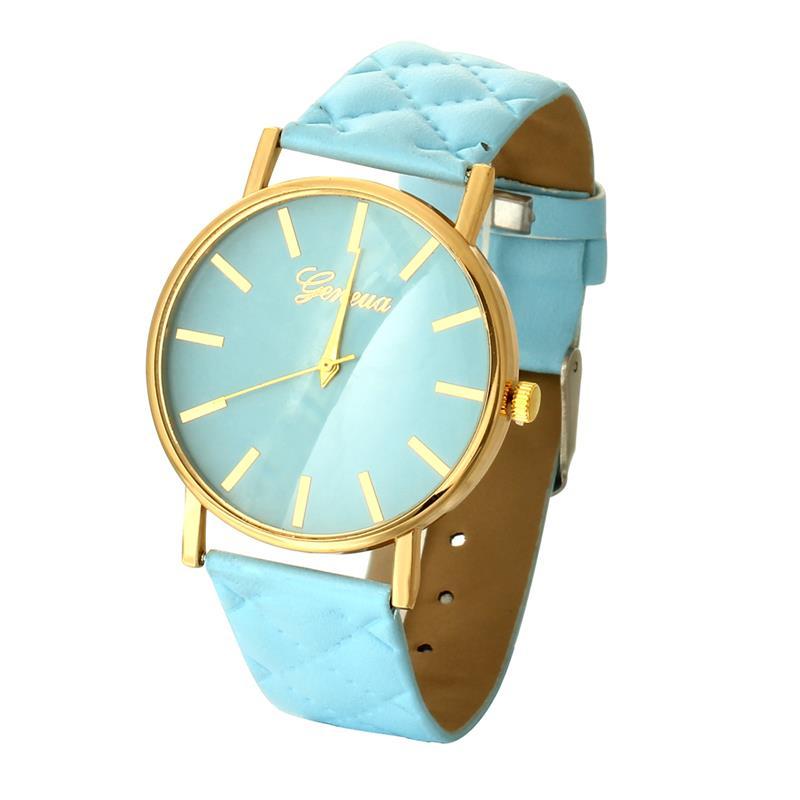 MINHIN Women's Leather Band Watches Fashion Ladies Simple Quartz Wristwatches Analog Clock Reloj Mujer