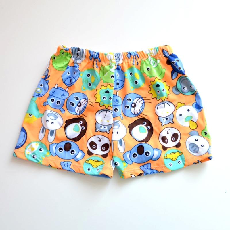 Micro Orange Multiple Cartoon CHILDREN'S Swimming Trunks Cute Boy Small Children AussieBum