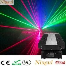 Лазерный светильник с движущейся головкой и 9 линзами RGB, DMX512/Auto/Sound Beam эффект, сценический светильник s, хороший для DJ, вечерние, дискотеки, для домашнего клуба, шоу
