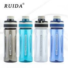 500ml&650ml Sports Water Bottle Portable Outdoor Travel Hiking Plastic Water Bottles Leakproof Drink Kettle My Bottle BPA Free