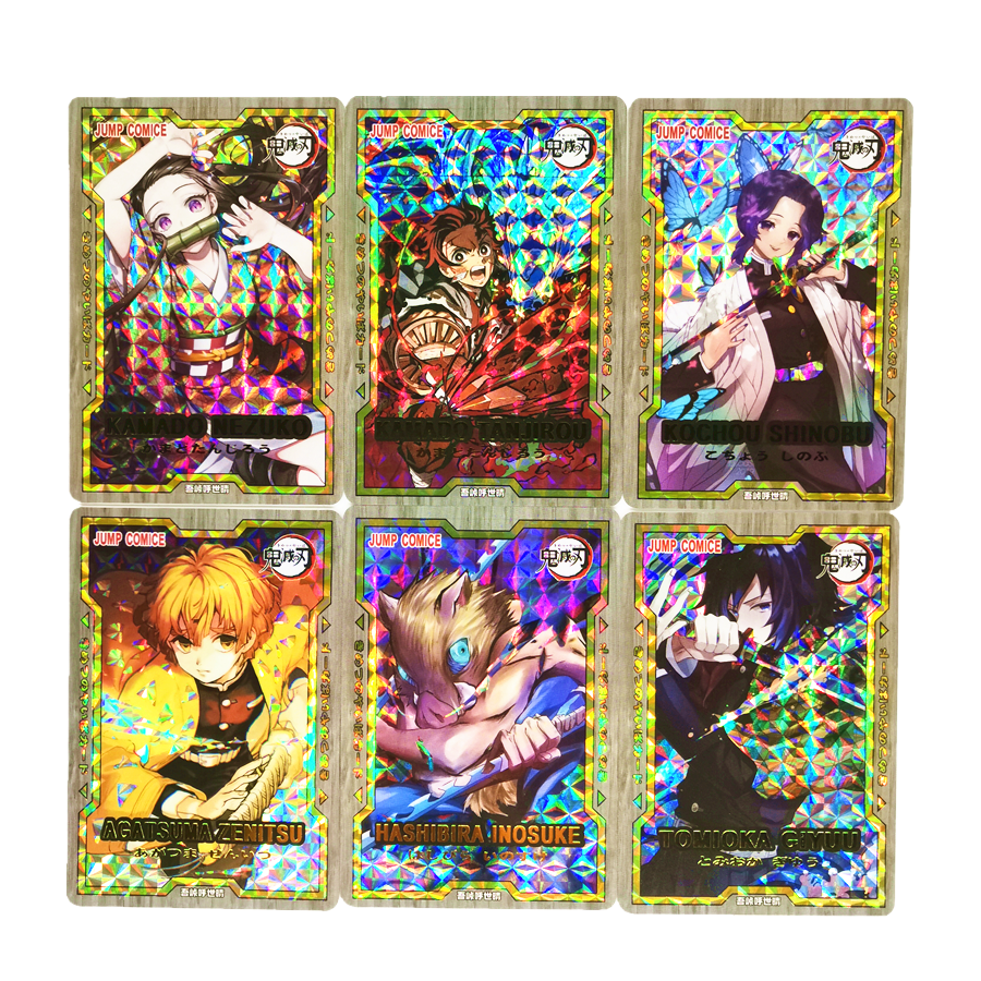 29pcs/set Demon Slayer Kimetsu No Yaiba Kamado Tanjirou Toys Hobbies Hobby Collectibles Game Collection Anime Cards