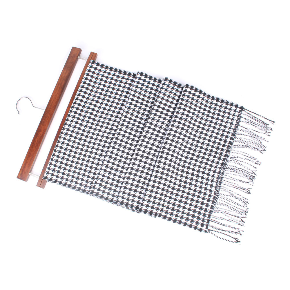 2018 Autumn And Winter Classic Plaid Scarf Tassels Thousands Of Birds Faux Cashmere Men And Women Warm Shawl Versatile Scarf 63