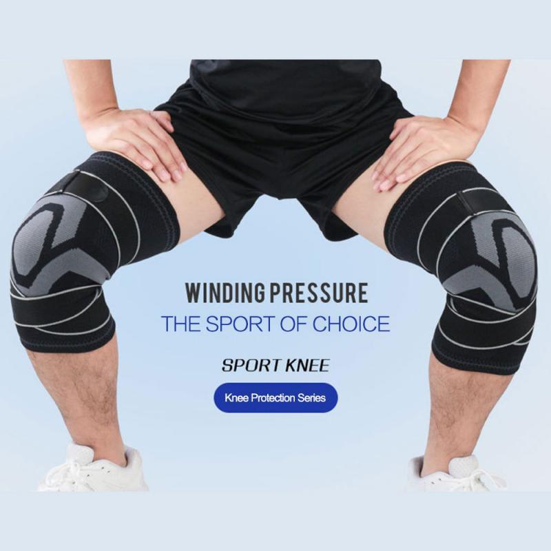 1 шт., профессиональный защитный наколенник для фитнеса, бега|Налокотники и наколенники|   | АлиЭкспресс