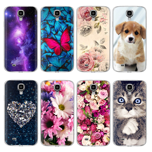 Case For Samsung S4 Case i9500 Soft Silicon Back Cover Phone Case For Samsung Galaxy S4 Mini S4Mini GT-I9190 i9195 i9192 animal