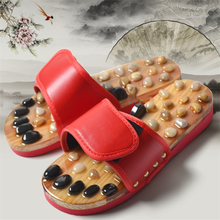 Acupoint Foot Massage Shoes Cobblestone Slippers Foot Pain Relief Relaxation Health Care Acupuncture And Moxibustion Slippers цена 2017