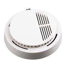 Detektor dymu dla inteligentnego domu Alarm przeciwpożarowy System alarmowy do domu detektor tlenku węgla tanie tanio Smoke Detector Czujka dymu White Home Kitchen etc Carbon Monoxide Sensor Carbon Monoxide Detector Stand Alone 9V batteries (Not including)