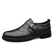 Brand Men's Casual Shoes New Breathable Comfortable Men Loafers Luxury Men's Flats Men Casual Shoes Buckle style *7011 цены онлайн