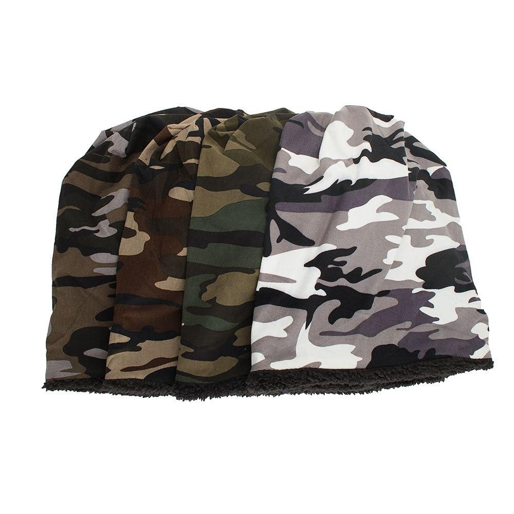 RoxCober осенне-зимняя теплая шапка skullies beanies Повседневная камуфляжная кепка для мужчин и женщин осенняя зимняя Милая шапочка