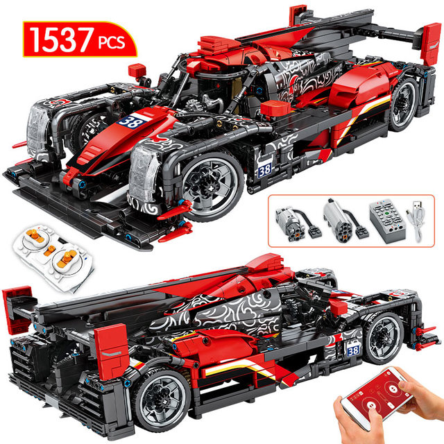 1538PCS Creator Technic RC/non-RC Racing Car Bricks 1:14 City MOC Remote Control Sports Vehicle Model Building Blocks Kids Toys