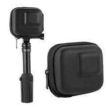 Gosear водонепроницаемый пылезащитный противоударный EVA жесткий чехол Аксессуары Защитный чехол сумка для Gopro Hero 8 7 6 5 Go Pro камера