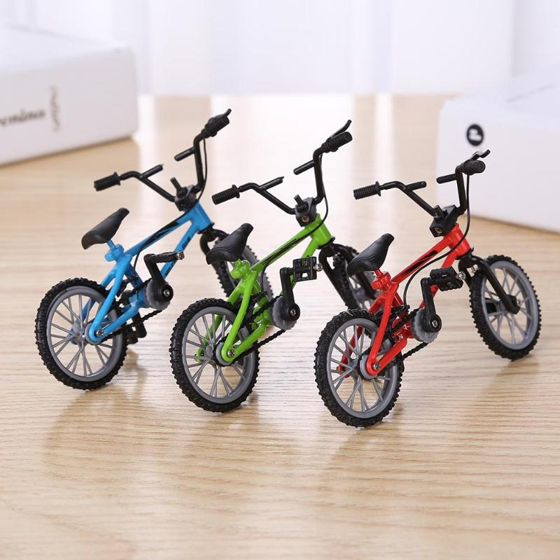 Мини пальчиковые горные велосипеды литой под давлением никелевый сплав стенты палец велосипед Дети Новинка кляп игрушки модель мини порта...