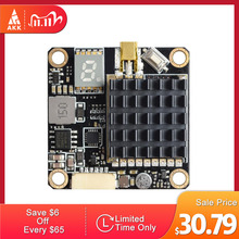 Akk FX2 Dominatorサポートスマートオーディオ250mw/500mw/1000mw/2000mw電力切替可能とosd構成5v出力とマイク