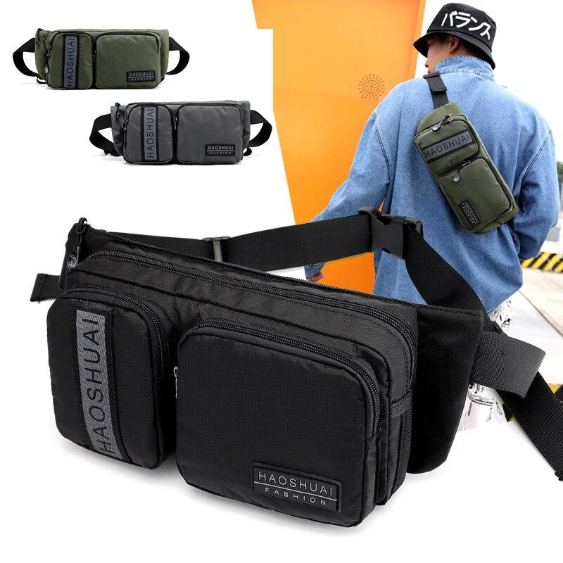 Motorcycle Waist Bag Men 2020 Chest Rig Bag Waist Bags Strip Anti-theft Waist Pack Bum Bag Hip Phone Bags