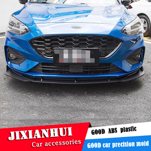 For FORD Focus Body kit spoiler 2019 2020 For Focus SC ABS Rear lip rear spoiler front Bumper Diffuser Bumpers Protector|Body Kits|Automobiles & Motorcycles -