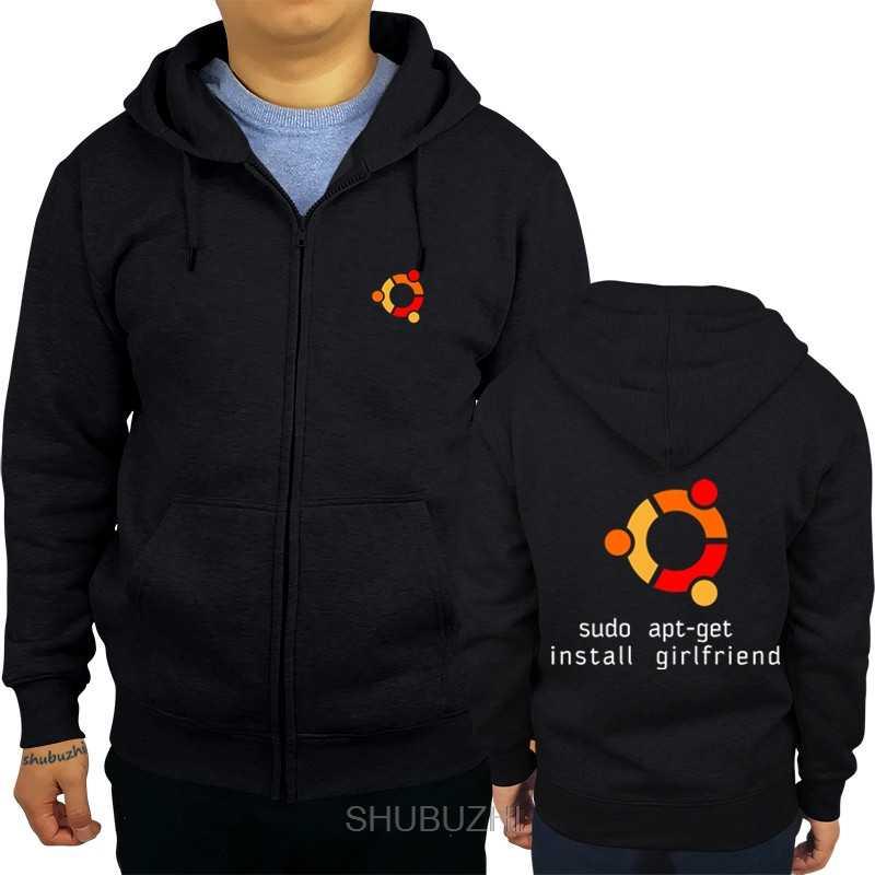 Ubuntu LINUX pour les êtres humains à capuche Top Lycra coton hommes à capuche pour petit ami hommes shubuzhi marque à la mode sbz3285