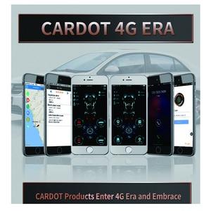 Image 5 - Cardot yeni 4g Gps Gsm akıllı Pke anahtarsız giriş uzaktan marş Start Stop motor araba alarmı
