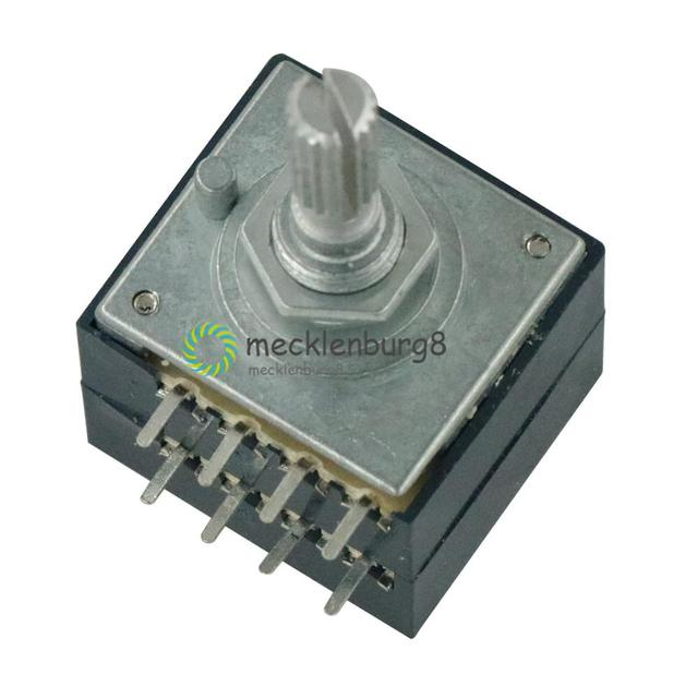 NIEUWE Potentiometer 100K Log ALPS Audio Amp Volumeregeling Pot Stereo W Luidheid