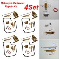 Motorcycle Carburetor Jettings Gasket Oring Repair For Honda NC23 CBR400RR CBR23