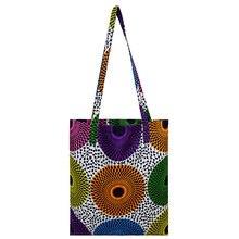 Африканская сумка ручной работы женская хлопковый материал принт