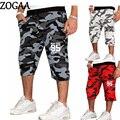 Мужские камуфляжные шорты для бега, спортивная одежда для фитнеса, повседневные пляжные свободные спортивные штаны на шнуровке, короткие б...