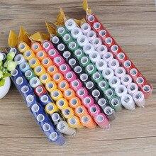 5 шт./10 шт./компл. швейная нить ручного шитья/машинная швейная нить для вышивки 200 ярдов инструмент для ремесленного пошива ручной работы това...