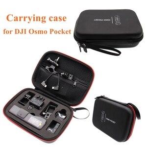 DJI OSMO Pocket Gimbal Camera Accessories Portable Mini Carry Case EVA Box Storage Bag OSMO Pocket Handheld Gimbal Carrying Bag(China)