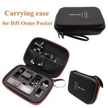 Dji osmo bolso 2 cardan acessórios da câmera portátil carry caso eva caixa de armazenamento saco osmo bolso 2 cardan portátil saco de transporte