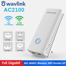 WIFI Repeater Range-Extender Dual-Band Access-Point Wavlink AC2100 MU-MIMO Full-Gigabit