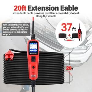 Image 5 - Autel PowerScan PS100 חשמל מערכת 12V/24V אבחון מעגל Tester כלי חשמל בודקי מוביל