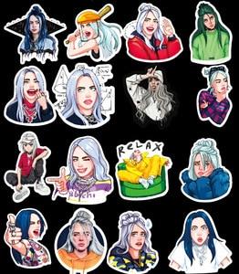 Image 2 - 10/30/50 PCS Cartoon Singer Stickers Waterproof Skateboard Fridge Snowboard Guitar Motorcycle Laptop Kids Sticker Classic Toys