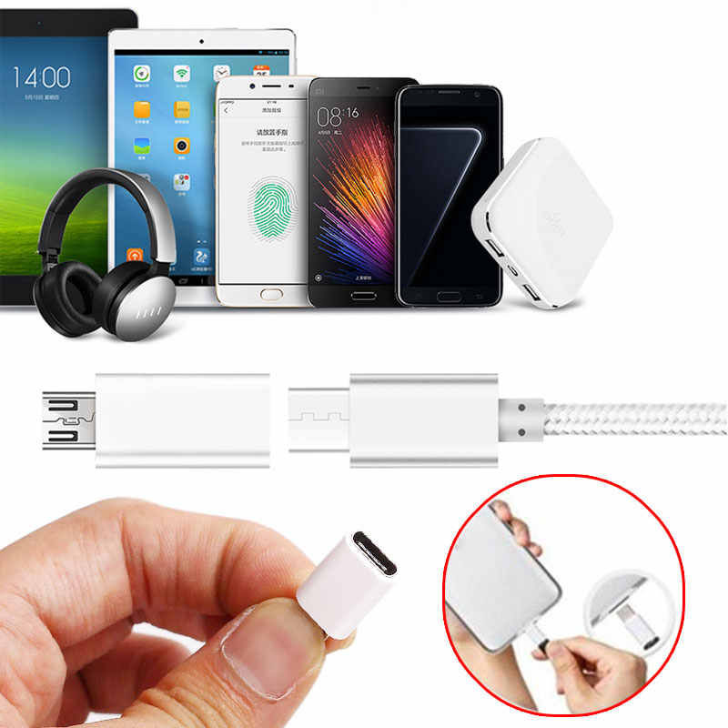 2019 Newest USB 3.1 Type C to Micro USB Interface Adapter  for Laptop Smartphone Interface Convert Type-C Adapter For Android