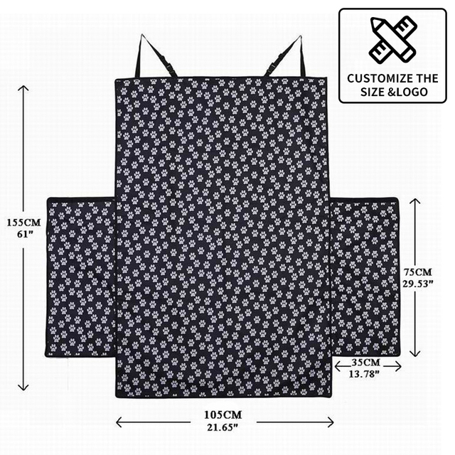 Pet Carriers Dog Car Seat Cover Trunk Mat Cover Protector  6