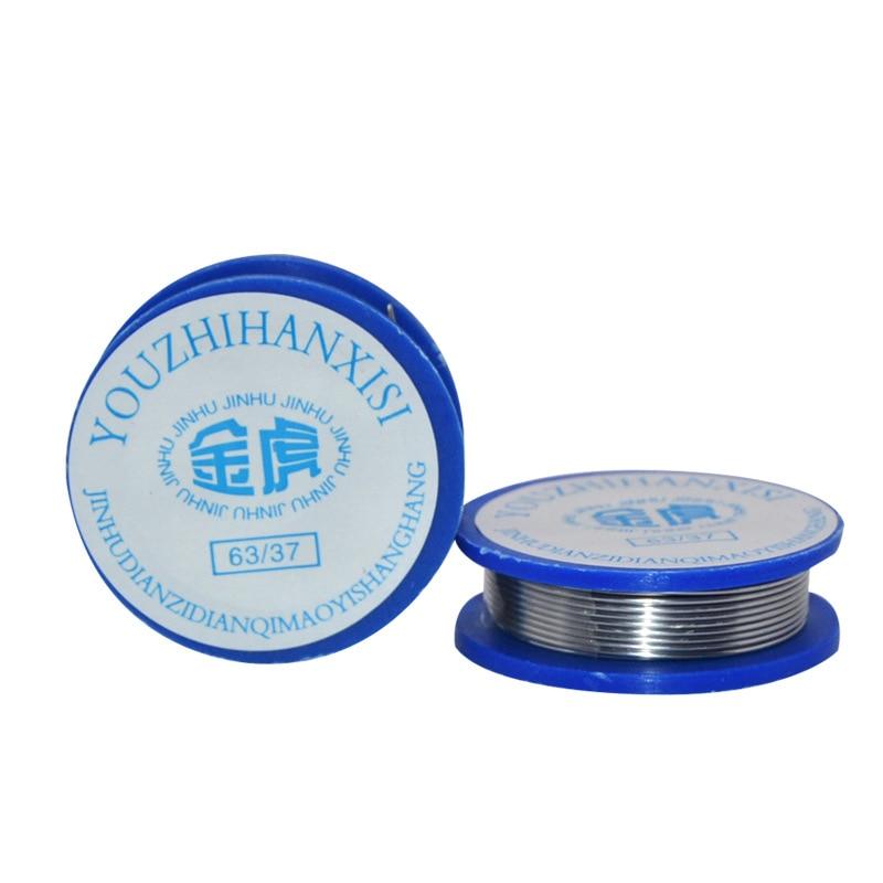 1 шт. 0,7 мм припой оловянный свинец канифоль содержание стержня флюса 2.0% сварочные ремонтные инструменты для электрической пайки Длина