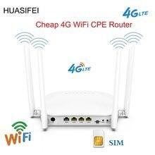 Huasifei 300 Мбит/с разблокированный 4g маршрутизатор cpe Беспроводной