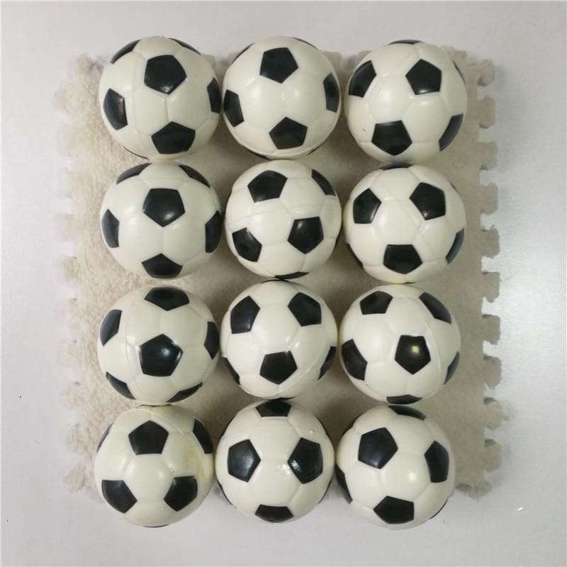 12pcs 6.3cm Anti Stress Ball Relief Soccer Football Basketball Baseball Tennis Soft Foam Rubber Squeeze Ball Toys For Kids